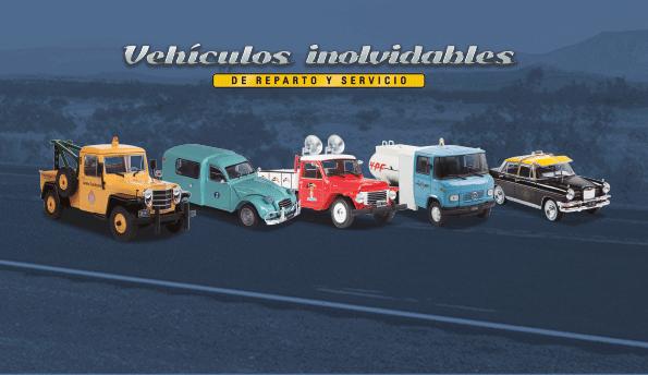 Vehículos Inolvidables De Reparto Y Servicio Editorial Salvat